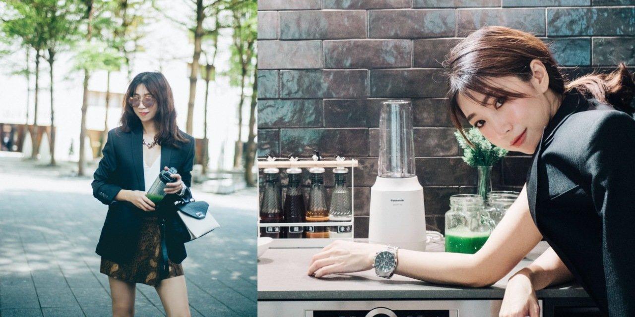 我的美顏飲與排毒果汁食譜分享 |  Panasonic 隨行杯果汁機,隨時以時髦運營忙碌人生
