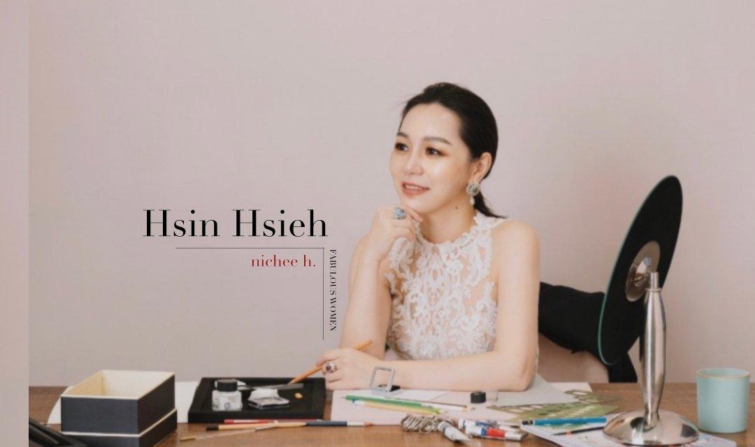 #30小姐系列 | nichee h.榭榭珠寶主理人謝欣潔:「 女人的高貴,來自她看得見平凡裡的精緻日常」
