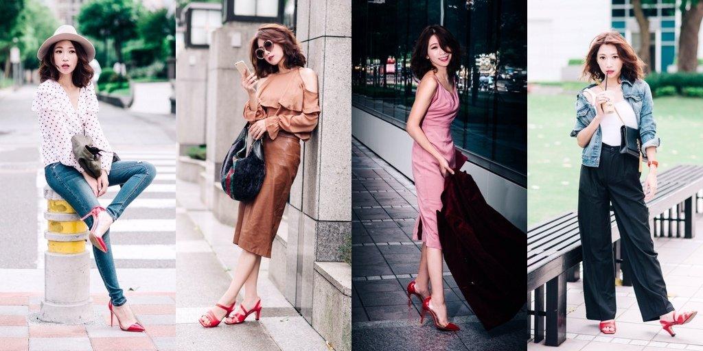 <Shoes>誰叫紅色太美! 戒不了的Xanadu紅色高跟鞋, 戰鞋穿搭質感更高級技巧